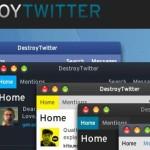Обзор твиттер-клиента Destroy Twitter