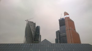 Москва-Сити на выходе