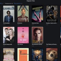Popcorn Time. Фильмы и сериалы онлайн