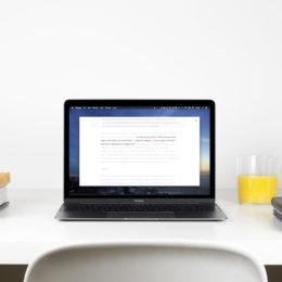 MacBook TypewriterMode